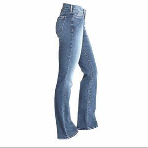 Eddie Bauer Mid-Rise Slightly Curvy Bootcut Jeans